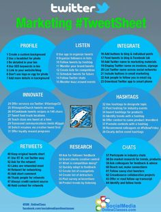 64 Quick and Simple Twitter Marketing Tips for Beginners #Infographic