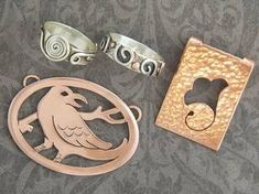 Basic Jewelry: Sawing and Soldering   Class Details   Silvera ...