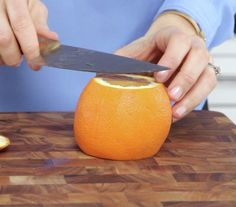 Learn how to cleanly segment an orange to add to salads, yogurt, and desserts.