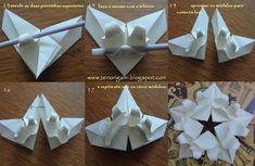 LUNAR   Minha mãe foi uma pessoa extremamente solar. Há poucos dias atrás, quando criei este origami, ele ficou sem nome, e embora tenha r...