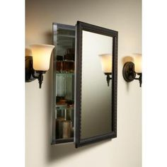 Smythe Oil Rubbed Bronze Mirror | Half bath | Pinterest | Bronze ...