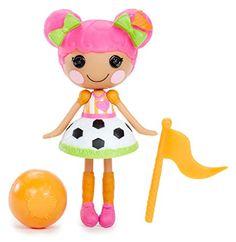 Lalaloopsy Minis Doll- Whistle Kick 'N' Score Lalaloopsy