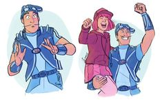 LT- Sportadad by on DeviantArt Lazy Town Robbie, Lazy Town Sportacus, Lazy Town Memes, Old Cartoons, Disney Cartoons, Cartoon Games, Cute Comics, Kids Shows, Cute Characters