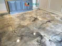 larrywashingto decorative metallic epoxy floor paint modern home flooring designs 2019 # Design Salon, Salon Interior Design, Home Design, Design Ideas, Basement Flooring, Basement Remodeling, Kitchen Flooring, Flooring Ideas, Epoxy Floor Paint