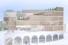 New Culinary School - Ariano Irpino (I) #competition #architecture #proposal