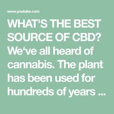WHAT'S THE BEST SOURCE OF CBD? We've all heard of cannabis. The plant has been used for hundreds of years for industrial, recreational, and medicinal purpose. Perfect Image, Perfect Photo, Love Photos, Cool Pictures, Before Bed Workout, Anxiety Help, Mood Tracker, Thats Not My, Good Things