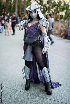 Shredder #TMNT #Cosplay #Wondercon2014
