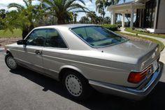 1987 Mercedes-Benz 560SEC | Bring a Trailer