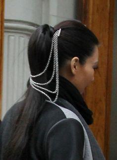 Kim Kardashians new hair jewelry!