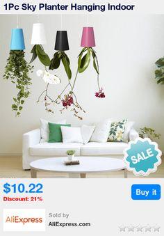 1Pc Sky Planter Hanging Indoor suspension Flower Pot Upside Down Plant Pot * Pub Date: 17:33 Apr 1 2017
