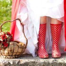 Regen op de trouwdag