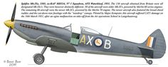 The South African Air Force Supermarine Spitfire Mk. Military Helicopter, Military Aircraft, South African Air Force, The Spitfires, Supermarine Spitfire, Battle Of Britain, Ww2 Aircraft, Royal Air Force, Aviation Art