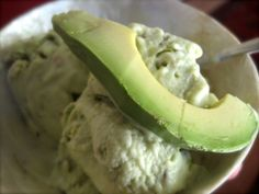 Avocado and Pistachio Ice Cream, from 'The Quince and the Quail'