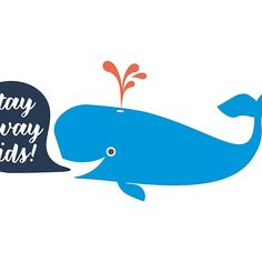 Stay away from the blue whale