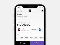 Nord - Finance App UI Kit by bahanotdead on Dribbble