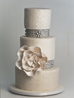 More Beautiful New York Wedding Cakes by Sugar Couture