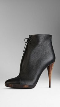 Burberry...omg, omg, omg...The ultimate bootie