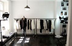 BLK DNM Stockholm   Mäster Samuelsgatan 1 Retail Space, Retail Shop, Retail Design, Wardrobe Rack, Black And White, Interior Design, Store, Inspiration, Shopping