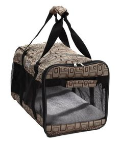 Pet Life Airline Approved UltraComfort Designer Dog Carrier Medium Plaid Design * Learn more by visiting the image link.(This is an Amazon affiliate link and I receive a commission for the sales)