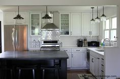Image result for black cabinetry neolith benchtop