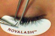 We do the Nova Lash Eyelash Extensions in our salon!