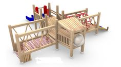 Awesome airplane play structure