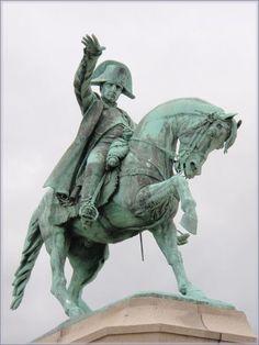 Napoléon statue - Cherbourg, France