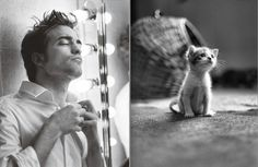 Des Hommes et des Chatons: Photo Hot Guys and Cats