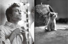 Des Hommes et des Chatons: Photo Hot Guys and Cats