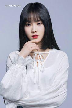 Gfriend Yuju for Lensnine Kpop Girl Groups, Korean Girl Groups, Kpop Girls, Extended Play, Gfriend Yuju, G Friend, Girl Bands, Office Outfits, Korean Beauty