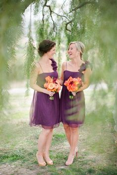 New Simple Pleated Purple Chiffon Elegant Sweetheart Bridesmaid Dress for Weding Prom Party Bride Gown Knee Length Dress - Cheap online shopping Bridesmaid Dresses Different Colors, Mismatched Bridesmaid Dresses, Bridesmaids, Wedding Styles, Wedding Ideas, Fall Wedding, Wedding Stuff, Dream Wedding, Wedding Inspiration