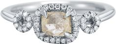 Raw diamond jewelry | Diamond in the Rough