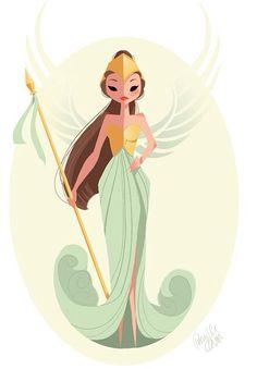Athena #pernilleoerum