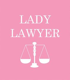 Lady Lawyer With Scales of Justice and Equality Medium Fuschia 8x10 Wall Art
