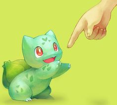 Bulbasaur Pokemon- out of the family tree Bulbasaur is my favorite, he seems to have a lot of personality