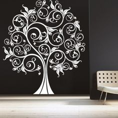 Wall Art Tree 61 popular wall decals inspiredmother nature | tree wall, wall