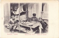 Postcard - Georgia 085 - Types du Caucase - Tailleur | Flickr - Photo Sharing!