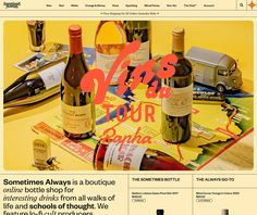 Fonts used: Founders Grotesk, ITC Clearface, Tango, Windsor #typography #design Best Web Design, Ad Design, Branding Design, Graphic Design, Typography Design, Website Design Layout, Layout Design, Brochure Food, Bottle Shop