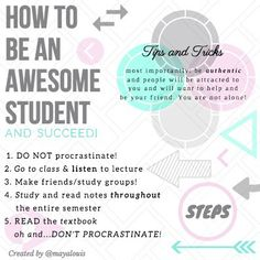 How to be an EXCELLENT student: – Maya Louis – Medium