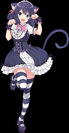 Anime Girl Cute, Anime Girls, Anime Neko, Zombie Apocalypse, Hatsune Miku, Magical Girl, Girl Power, Rock, Manga