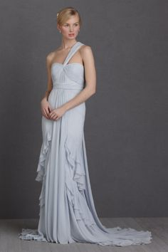Gorgeous floaty wedding gown by BHLDN
