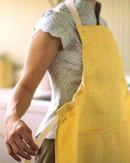 DIY chefs apron