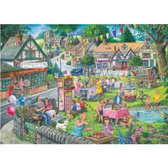 Summer Green Jigsaw Puzzle from Jigsaw Puzzles Direct - Order today and Get Free Delivery