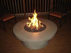 outdoor natual gas firepits.  Made in Oregon.