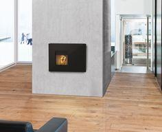 Rike Interno. De inzet pelletkachel van Rika. Een prachtig design voor een plaatje in uw woonkamer. www.haardenimport.nl