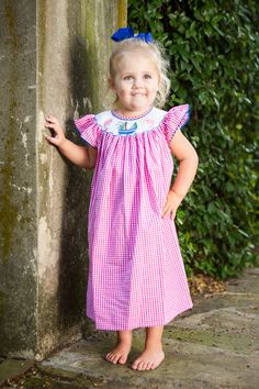 Gorgeous smocked dresses!