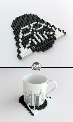 Darth Vader Posavasos ¡Me encanta! >> Darth Vader Coaster