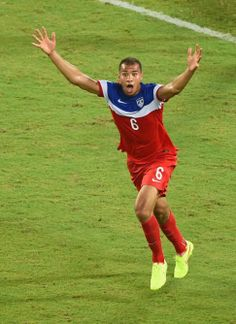 2014 World Cup: John Brooks' header lifts Team USA over Ghana - NY Daily ... John Brooks can't believe it, as his header in the 86th minute puts USA up 2-1 and is the difference in the game.