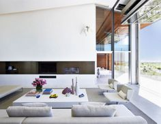 Eco friendly House with Exposed Concrete Panels