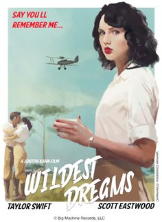 I love the look of old movie posters.  The art work invokes images of mystery, adventure, passion, love, and destiny....All in exotic locations.